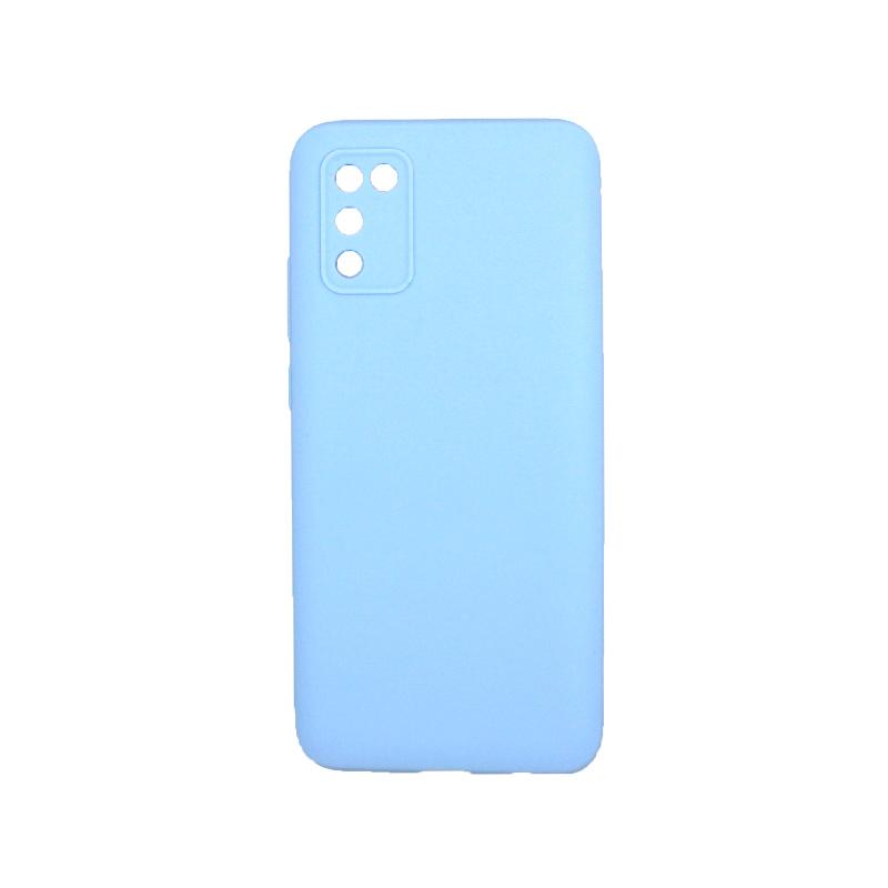 Θήκη Samsung Galaxy A02 / A02S Σιλικόνη λιλά