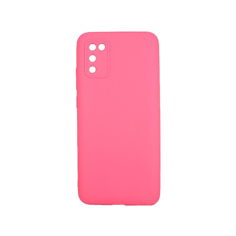 Θήκη Samsung Galaxy A02 / A02S Σιλικόνη ροζ
