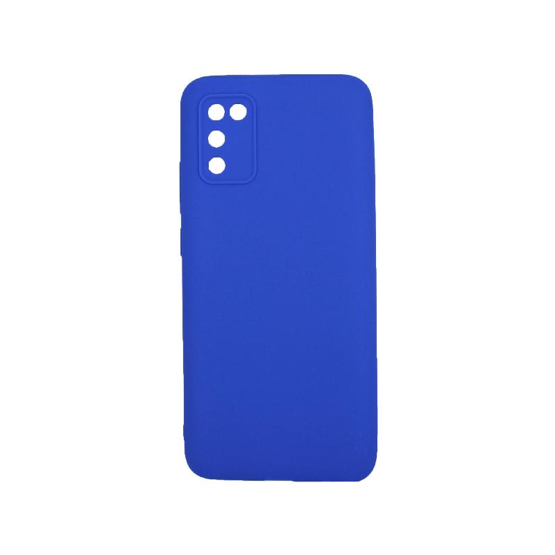 Θήκη Samsung Galaxy A02 / A02S Σιλικόνη μπλε