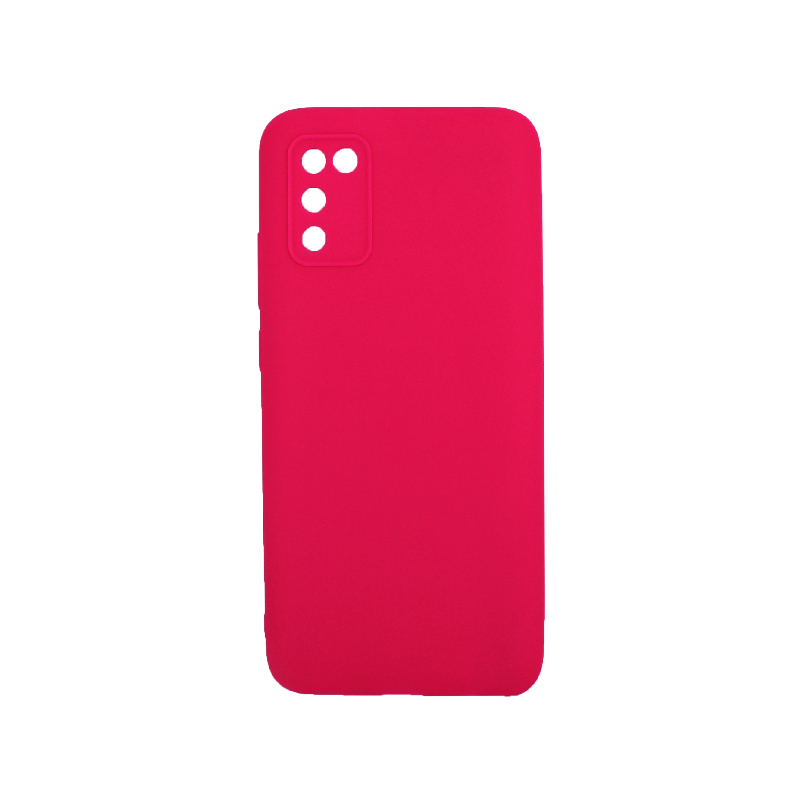 Θήκη Samsung Galaxy A02 / A02S Σιλικόνη φούξια
