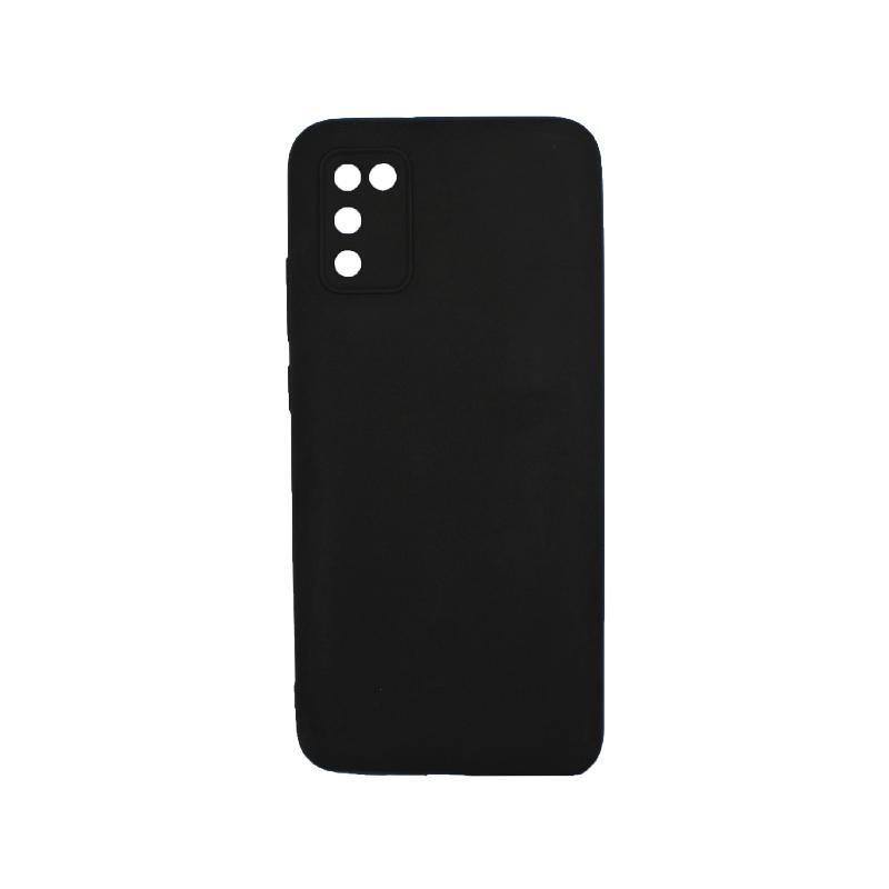 Θήκη Samsung Galaxy A02 / A02S Σιλικόνη μαύρο