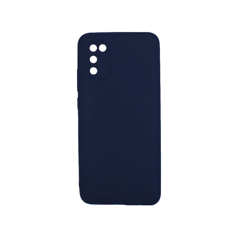 Θήκη Samsung Galaxy A02 / A02S Σιλικόνη σκούρο μπλε