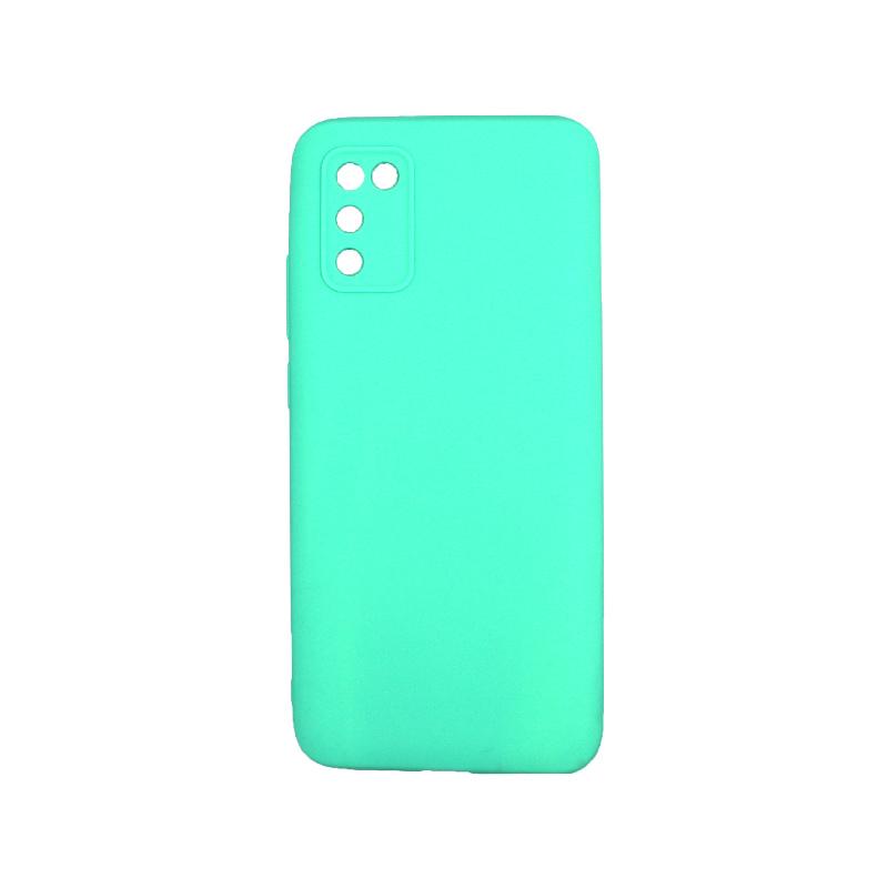 Θήκη Samsung Galaxy A02 / A02S Σιλικόνη τιρκουάζ