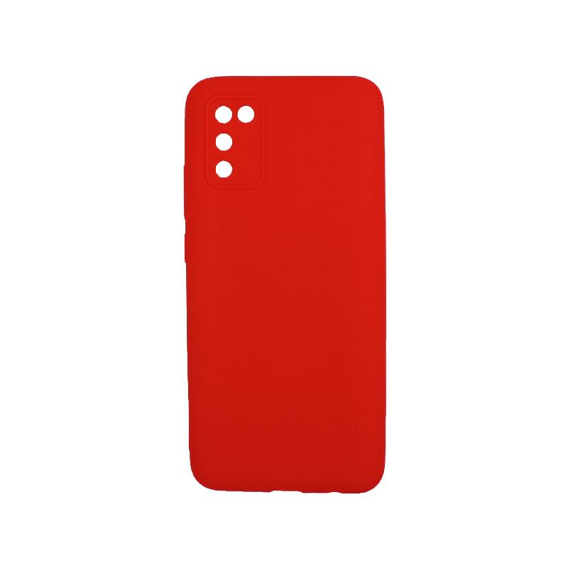 Θήκη Samsung Galaxy A02 / A02S Σιλικόνη κόκκινο