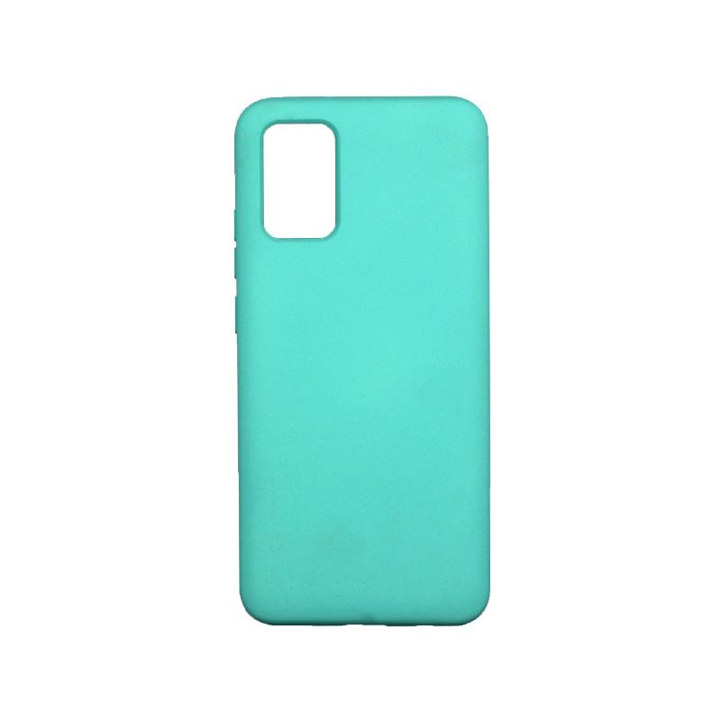 Θήκη Samsung Galaxy A02 / A02S Silky and Soft Touch Silicone τιρκουάζ