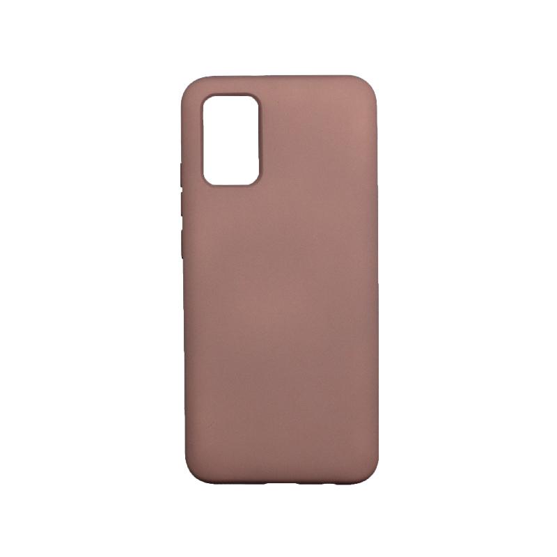 Θήκη Samsung Galaxy A02 / A02S Silky and Soft Touch Silicone nude