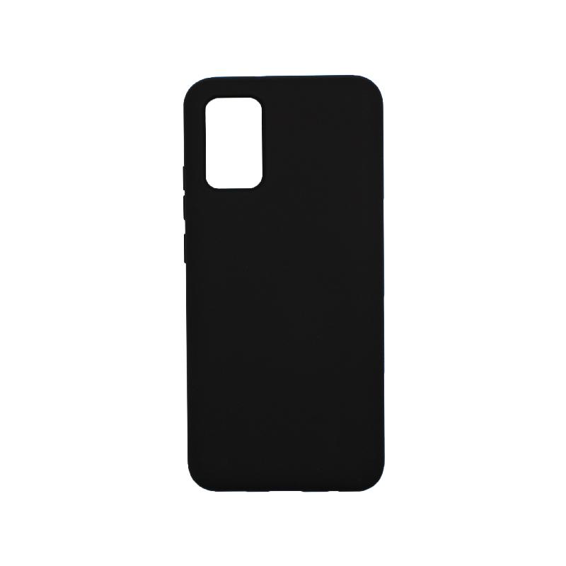 Θήκη Samsung Galaxy A02 / A02S Silky and Soft Touch Silicone μαύρο
