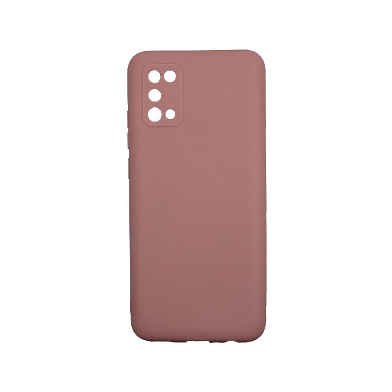 Θήκη Samsung Galaxy A02 / A02S Σιλικόνη Nude