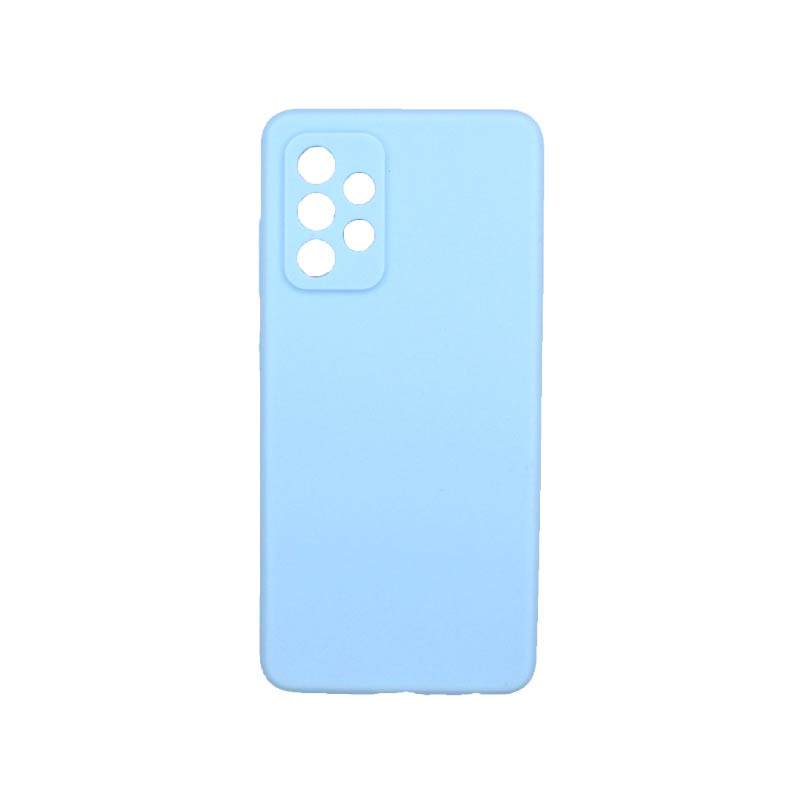 Θήκη Samsung Galaxy A52 Σιλικόνη Με Εσοχές Γαλάζιο