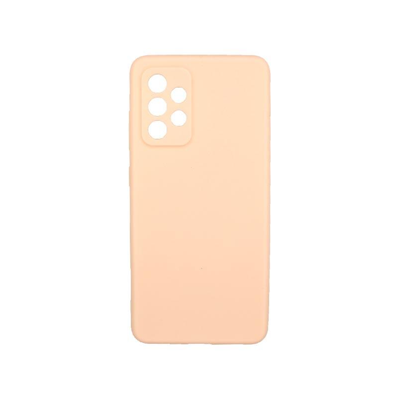 Θήκη Samsung Galaxy A52 Σιλικόνη Με Εσοχές Μπεζ