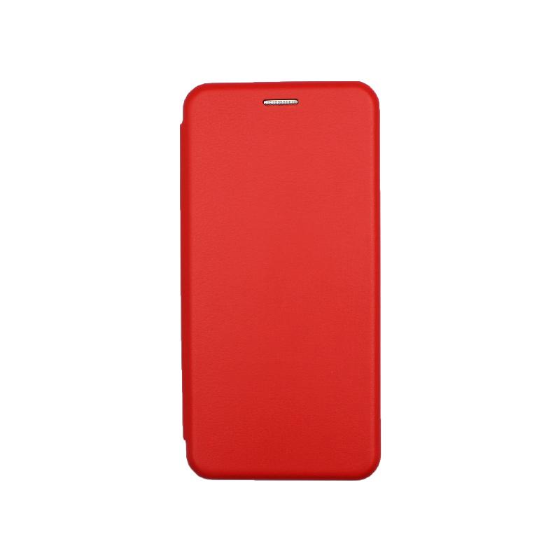 Θήκη Samsung Galaxy A52 Book κόκκινο