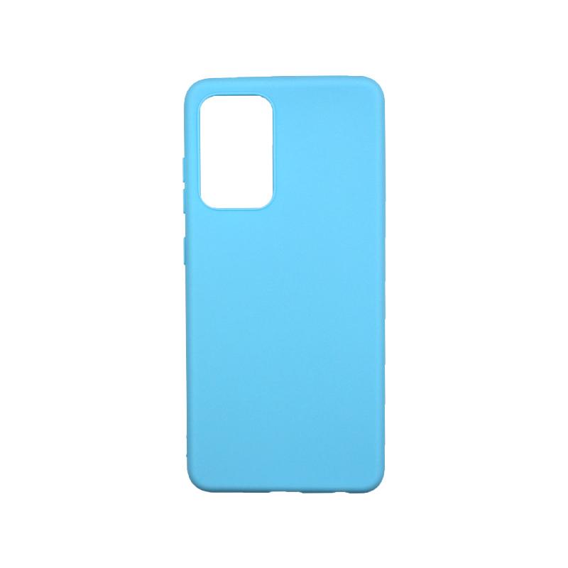 Θήκη Samsung Galaxy A52 Σιλικόνη γαλάζιο