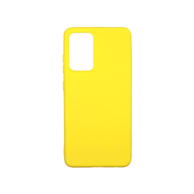 Θήκη Samsung Galaxy A52 Σιλικόνη κίτρινο