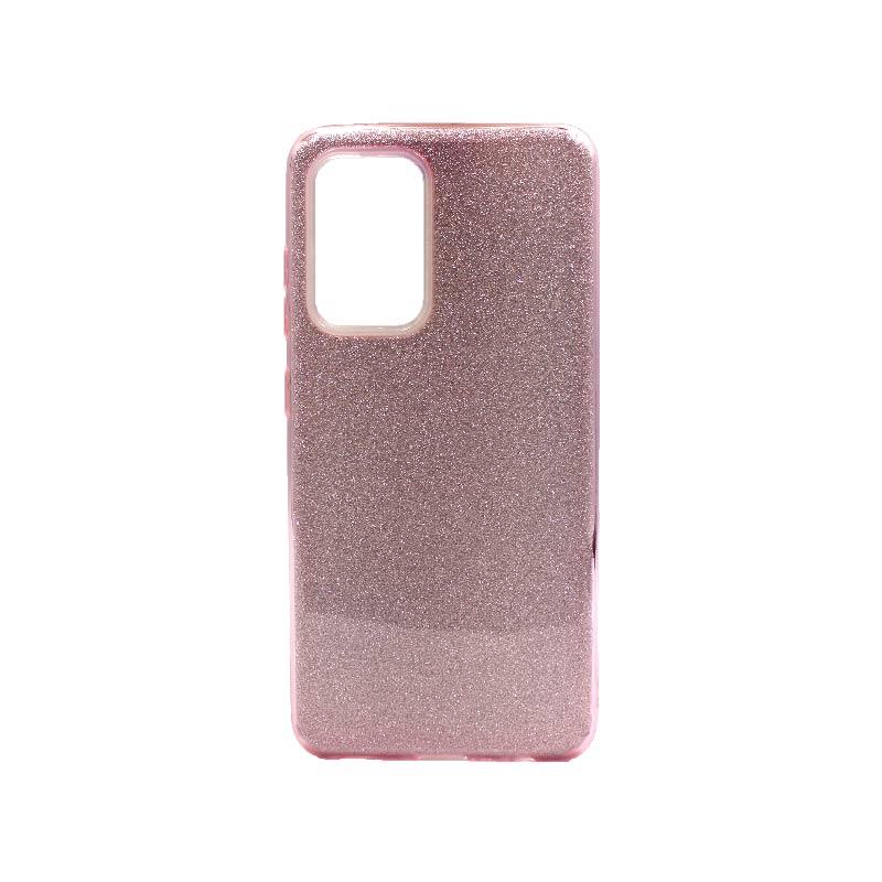 Θήκη Samsung Galaxy A52 Glitter ροζ
