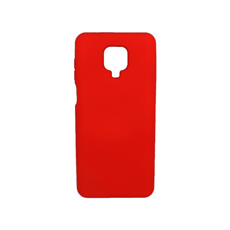 Θήκη Xiaomi Redmi Note 9S / Note 9 Pro / Note 9 Pro Max Silky and Soft Touch Silicone κόκκινο 1