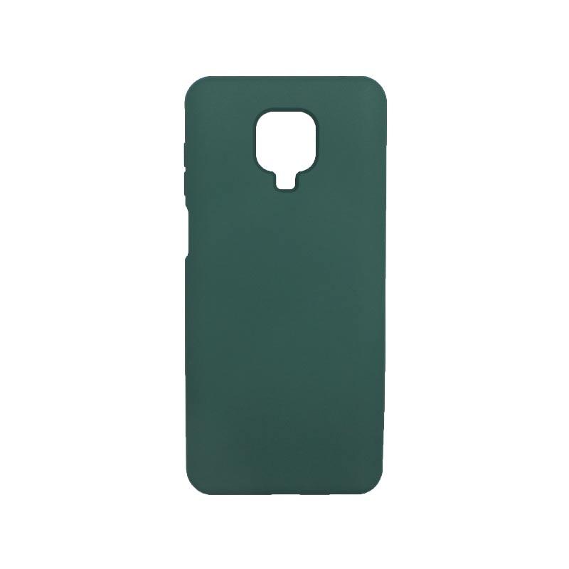 Θήκη Xiaomi Redmi Note 9S / Note 9 Pro / Note 9 Pro Max Silky and Soft Touch Silicone πράσινο 1