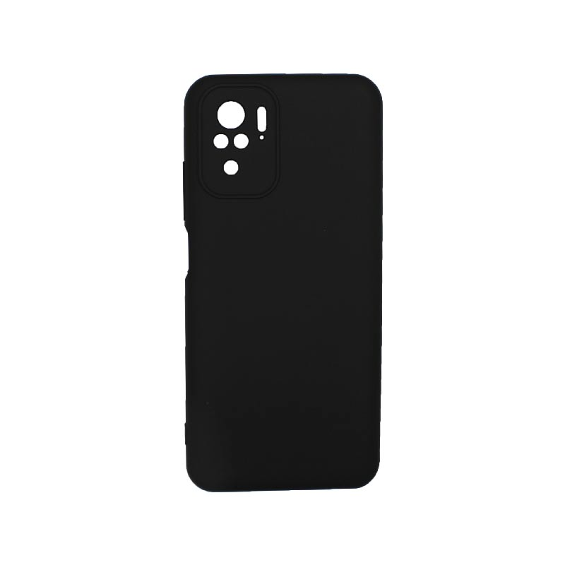 Θήκη Xiaomi Redmi Note 10 / Note 10S Silky and Soft Touch Silicone Μαύρο 1