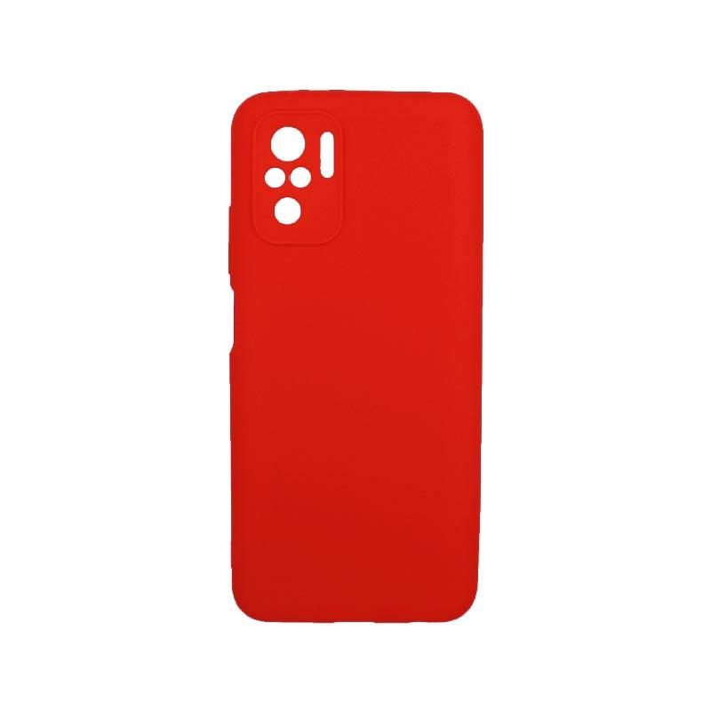 Θήκη Xiaomi Redmi Note 10 / Note 10S Σιλικόνη Με Εσοχές Κόκκινο