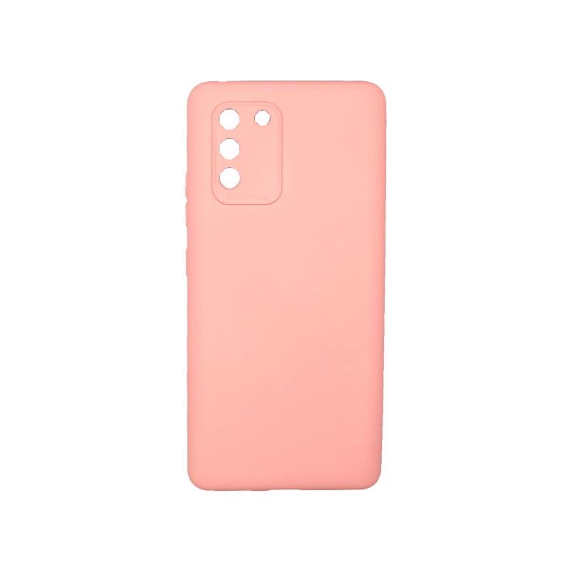 Θήκη Samsung Galaxy S10 Lite 2020 Silky and Soft Touch Silicone Με Εσοχές Ροζ 1
