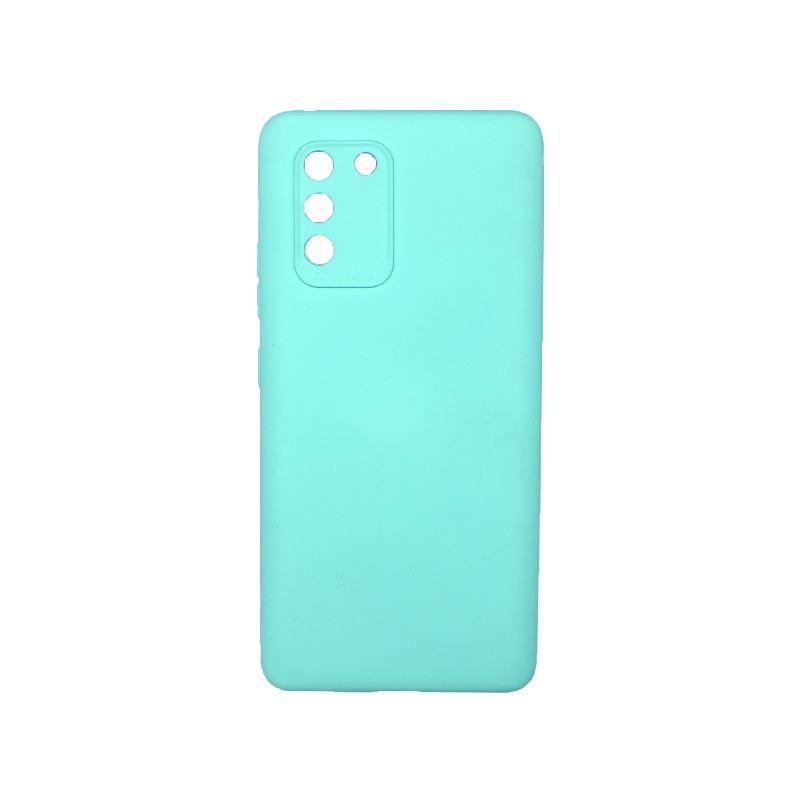 Θήκη Samsung Galaxy S10 Lite 2020 Silky and Soft Touch Silicone Με Εσοχές Τιρκουάζ 1