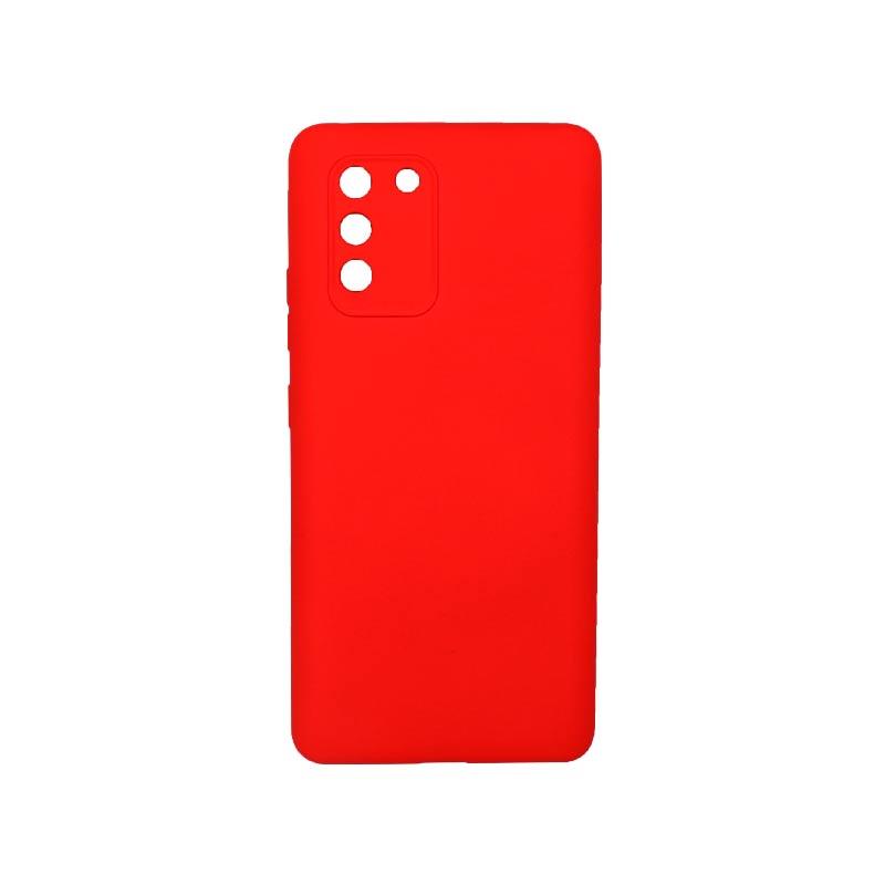 Θήκη Samsung Galaxy S10 Lite 2020 Silky and Soft Touch Silicone Με Εσοχές Κόκκινο 1