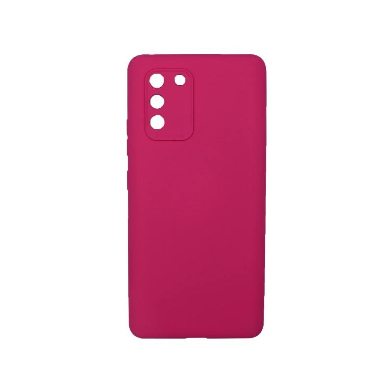 Θήκη Samsung Galaxy S10 Lite 2020 Silky and Soft Touch Silicone Με Εσοχές Φούξια 1