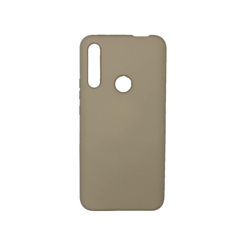 Θήκη Huawei P Smart Z Silky and Soft Touch Silicone Λαδί