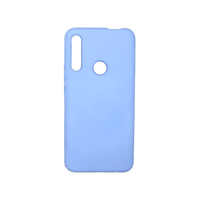 Θήκη Huawei P Smart Z Silky and Soft Touch Silicone Λιλά