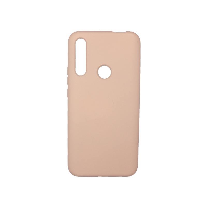 Θήκη Huawei P Smart Z Silky and Soft Touch Silicone Απαλό Ροζ