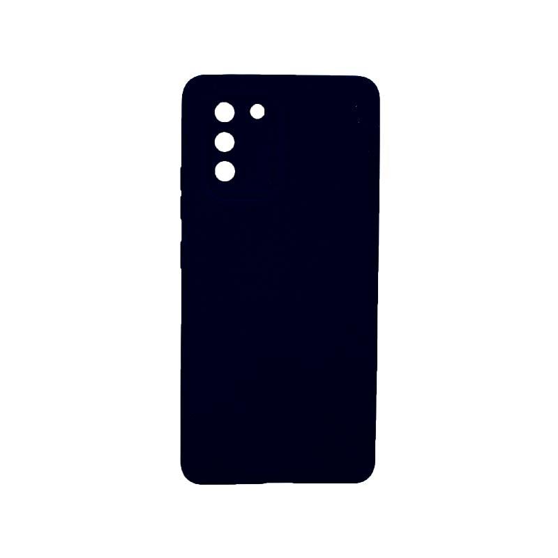 Θήκη Samsung Galaxy S10 Lite 2020 Silky and Soft Touch Silicone Με Εσοχές Μπλε 1