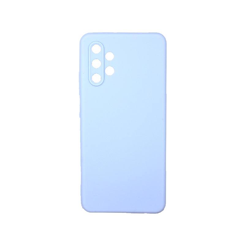 Θήκη Samsung Galaxy A32 4G Σιλικόνη Με Εσοχές Γαλάζιο