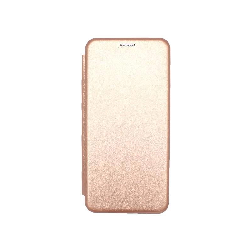 Θήκη Samsung Galaxy A32 5G Book Ροζ Χρυσό 1