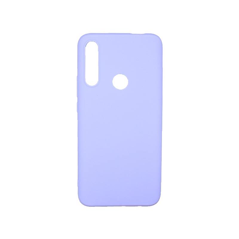 Θήκη Huawei P Smart Z Σιλικόνηη Μωβ