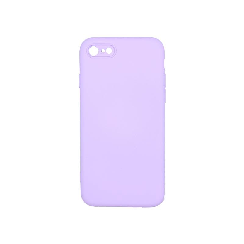 Θήκη iPhone 7 / 8 / SE 2020 Silky and Soft Touch Silicone Μωβ απαλό