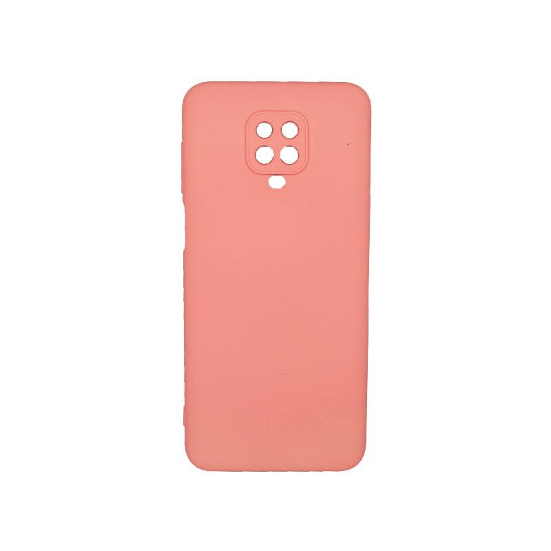 Θήκη Xiaomi Redmi Note 9S / Note 9 Pro / Note 9 Pro Max Silky and Soft Touch Silicone Κοραλί