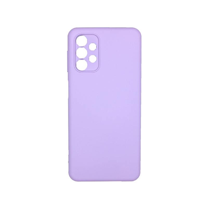 Θήκη Samsung Galaxy A32 5G Silky and Soft Touch Silicone Μωββ 1