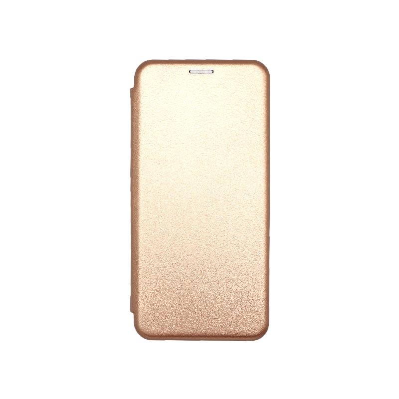Θήκη Xiaomi Redmi Note 9S / Note 9 Pro / Note 9 Pro Max Book Ροζ Χρυσό
