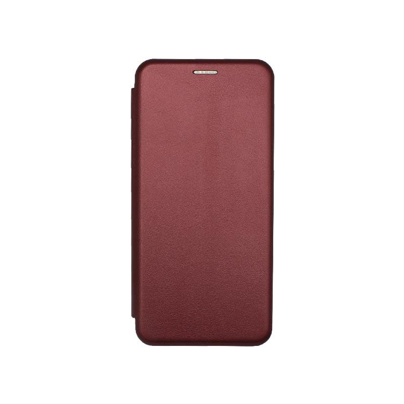 Θήκη Xiaomi Redmi Note 9S / Note 9 Pro / Note 9 Pro Max Book Μπορντό