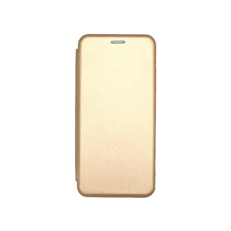 Θήκη Xiaomi Redmi Note 9S / Note 9 Pro / Note 9 Pro Max Book Χρυσό