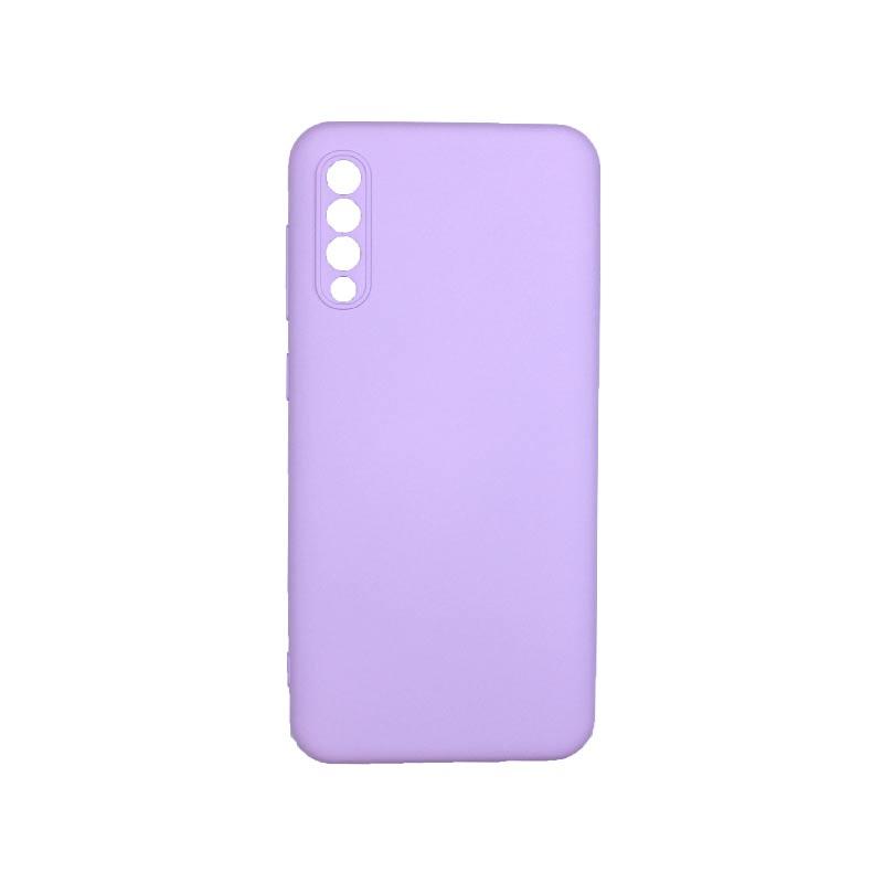 Θήκη Samsung Galaxy A50 / A30s / A50s Silky and Soft Touch Silicone Με Εσοχές Μωβ