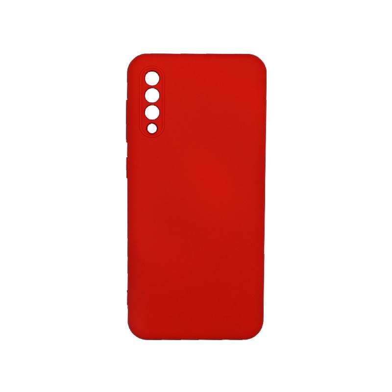 Θήκη Samsung Galaxy A50 / A30s / A50s Silky and Soft Touch Silicone Με Εσοχές Κόκκινο