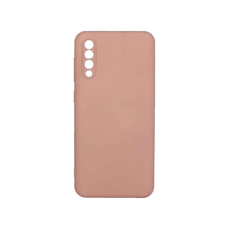 Θήκη Samsung Galaxy A50 / A30s / A50s Silky and Soft Touch Silicone Με Εσοχές Μπεζ