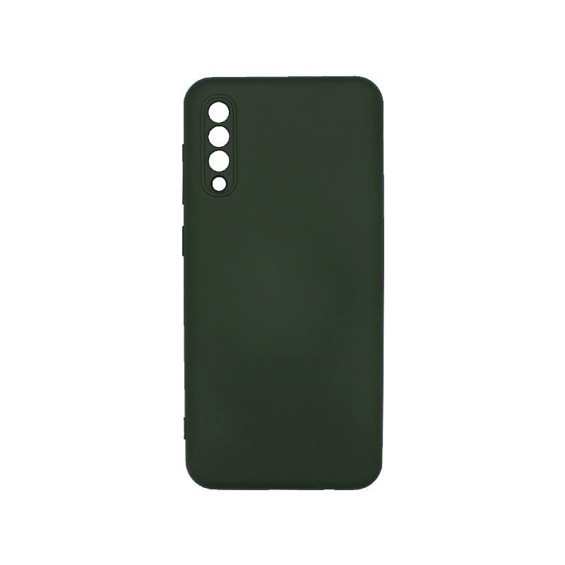 Θήκη Samsung Galaxy A50 / A30s / A50s Silky and Soft Touch Silicone Με Εσοχές Πράσινο