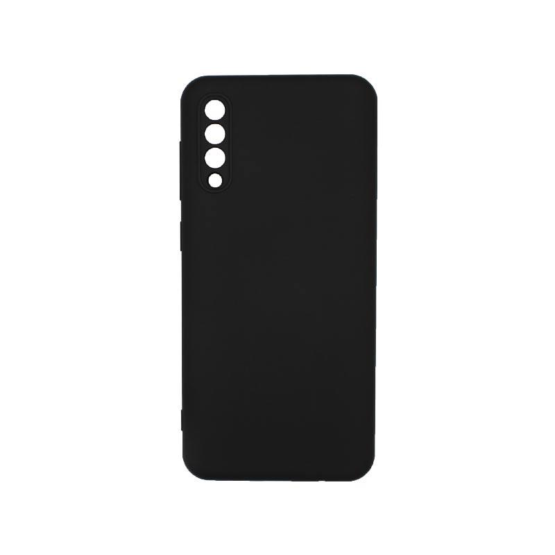 Θήκη Samsung Galaxy A50 / A30s / A50s Silky and Soft Touch Silicone Με Εσοχές Μαύρο