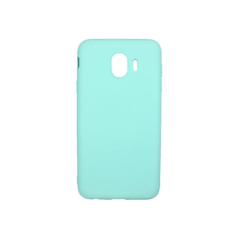 Θήκη Samsung Galaxy J4 Σιλικόνη Τιρκουάζ